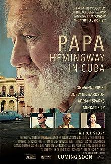 Poster Papa Hemingway in Cuba
