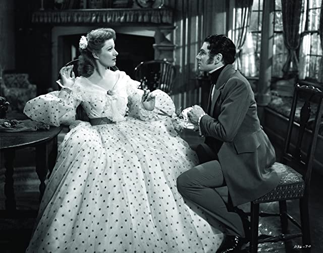 Laurence Olivier and Greer Garson in Pride and Prejudice (1940)