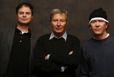 Timothy Hutton, Robert Shaye, and Rainn Wilson at an event for The Last Mimzy (2007)