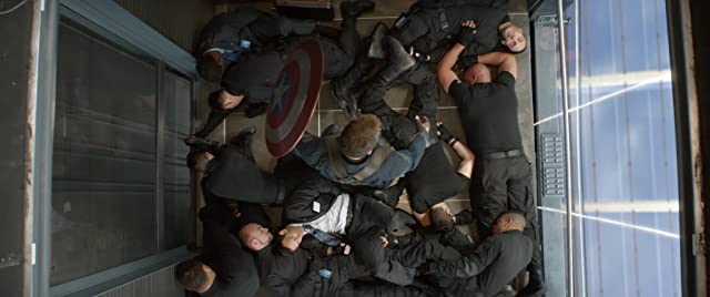 Chris Evans in Captain America: The Winter Soldier (2014)