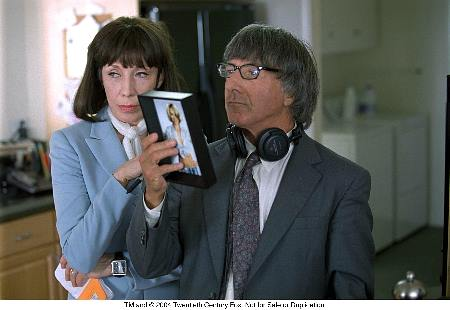 Dustin Hoffman and Lily Tomlin in I Heart Huckabees (2004)