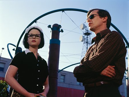 Steve Buscemi and Thora Birch in Ghost World (2001)