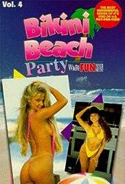 Bikini Beach Party Poster