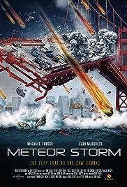Meteor Storm Poster
