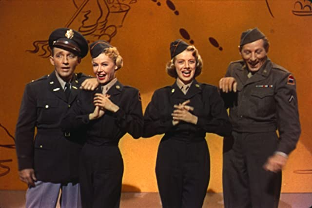 Bing Crosby, Danny Kaye, Rosemary Clooney, and Vera-Ellen in White Christmas (1954)