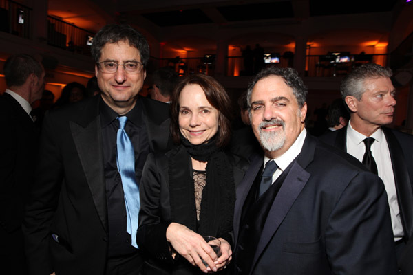Jessica Harper, Jon Landau, and Tom Rothman at an event for The 82nd Annual Academy Awards (2010)