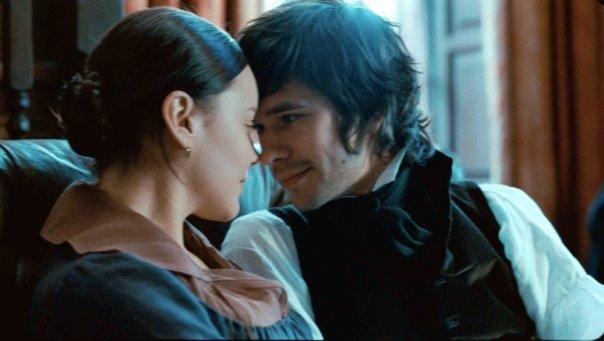 Abbie Cornish and Ben Whishaw in Bright Star (2009)