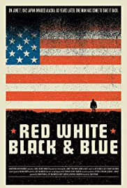 Red White Black & Blue Poster