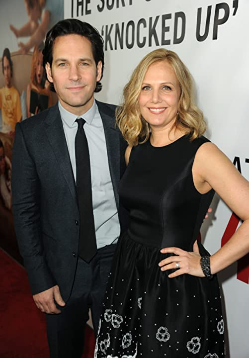 Paul Rudd and Julie Yaeger at This Is 40 (2012)