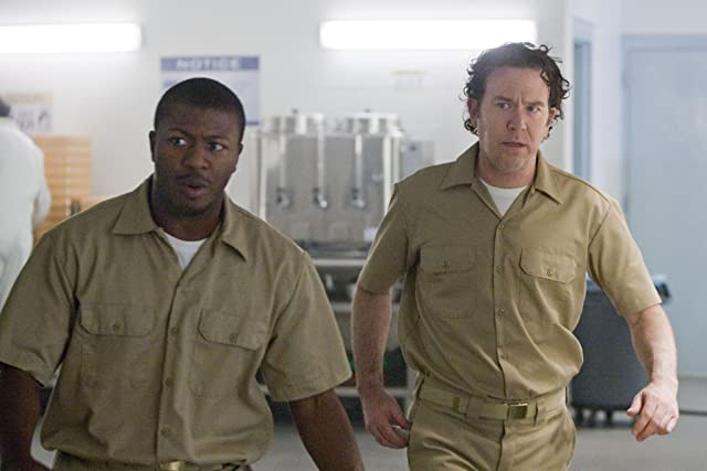 Timothy Hutton and Edwin Hodge in Leverage (2008)