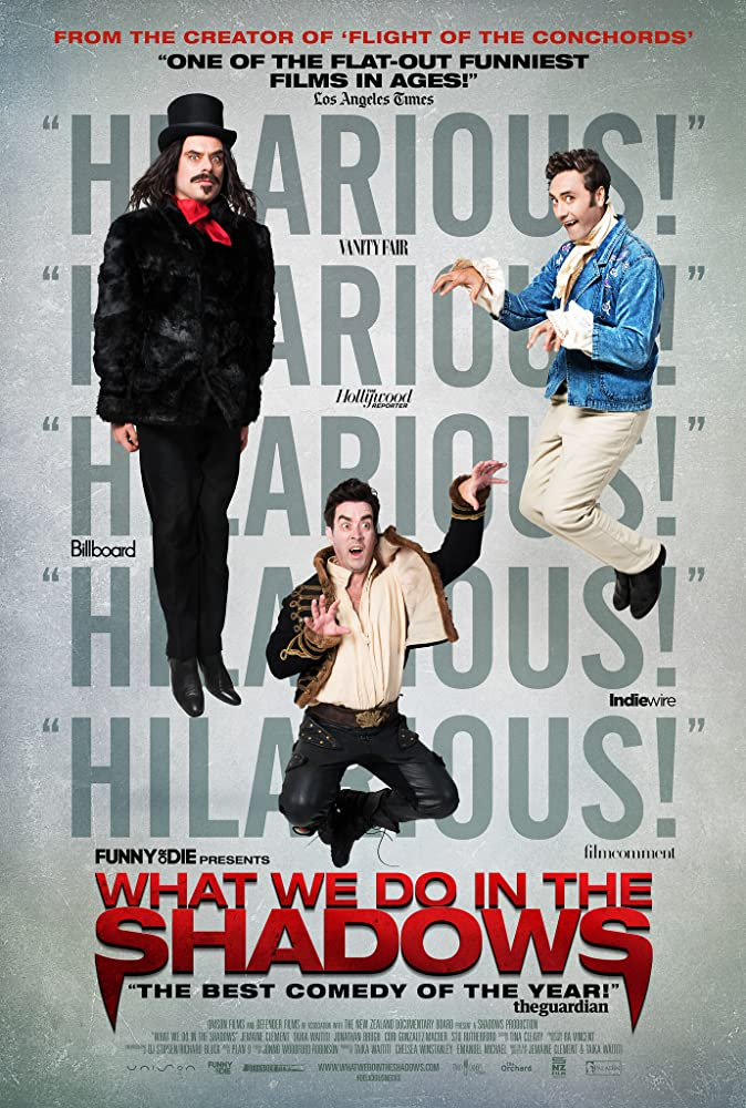 What We Do in the Shadows cartel de la película