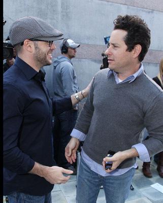 J.J. Abrams and Damon Lindelof
