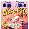 Tyrone Power, Joan Davis, Sonja Henie, and Arthur Treacher in Thin Ice (1937)