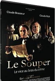 Le souper Poster