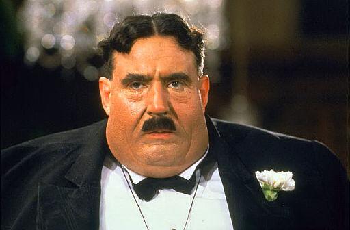 Terry Jones as Mr. Creosote.