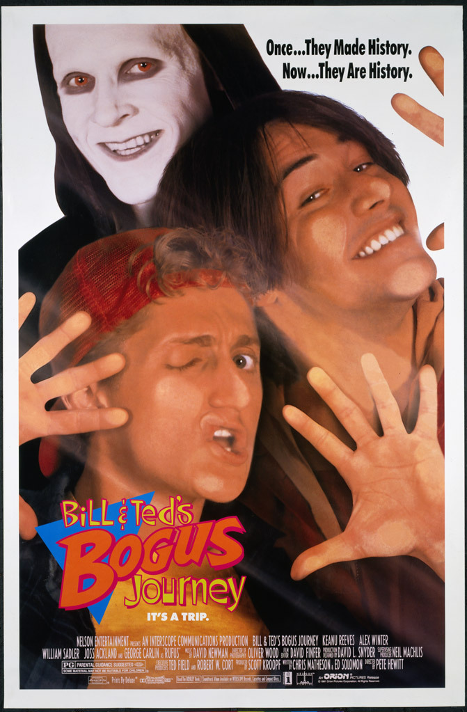 Bill & Ted's Bogus Journey poster