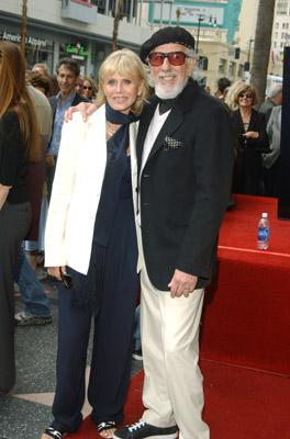 Britt Ekland and Lou Adler