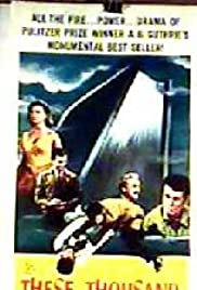 These Thousand Hills (1959) Poster - Movie Forum, Cast, Reviews