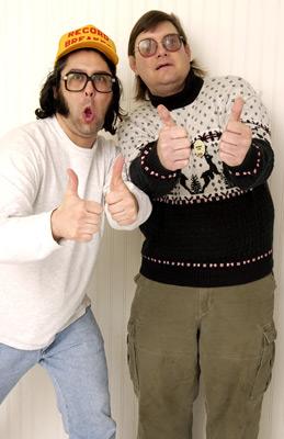 Judah Friedlander and Toby Radloff at an event for American Splendor (2003)