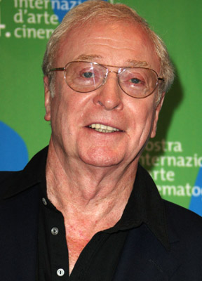 Michael Caine at Sleuth (2007)