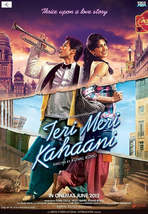 Priyanka Chopra and Shahid Kapoor in Teri Meri Kahaani (2012)