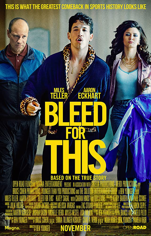 Bleed for This 2016 720p BluRay 600MB