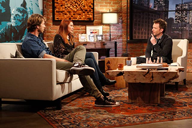 Chris Hardwick, Felicia Day, and Jon Heder in Talking Dead (2011)