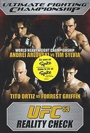 UFC 59: Reality Check Poster