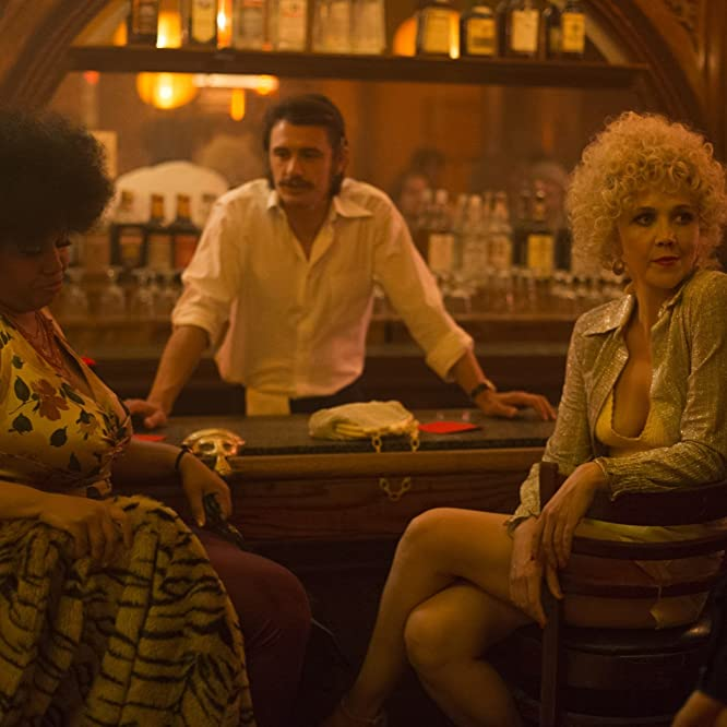 James Franco, Maggie Gyllenhaal, and Pernell Walker in The Deuce (2017)