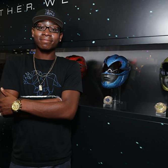RJ Cyler at an event for Power Rangers (2017)