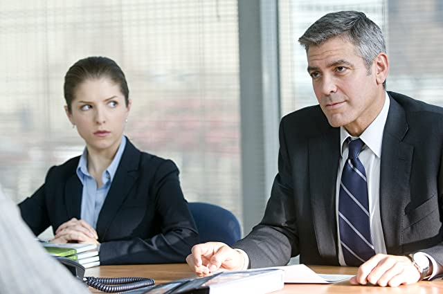 George Clooney and Anna Kendrick in Up in the Air (2009)