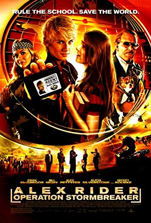Alex Rider: Operation Stormbreaker poster