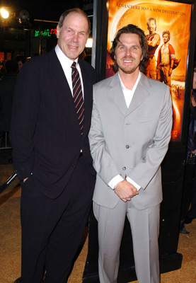 Michael Eisner and Breck Eisner at an event for Sahara (2005)
