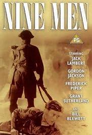 Nine Men Poster