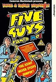 Five Guys Named Moe Poster