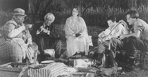 Edward Furlong, Walter Matthau, Sean Patrick Flanery, Piper Laurie, and Nell Carter in The Grass Harp (1995)