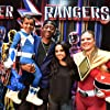 Becky G. and RJ Cyler at an event for Power Rangers (2017)