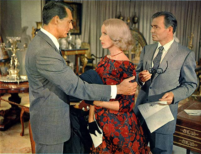 Cary Grant, James Mason, and Eva Marie Saint in North by Northwest (1959)