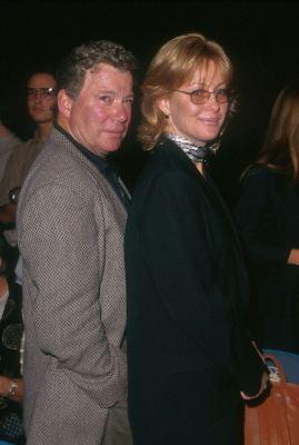 William Shatner and Nerine Kidd at Star Trek (1966)