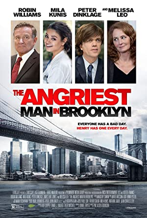 Poster The Angriest Man in Brooklyn