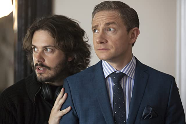 Martin Freeman and Edgar Wright in The World's End (2013)
