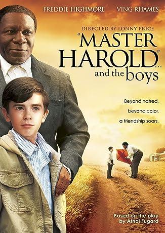 'Master Harold' ... And the Boys (2010)