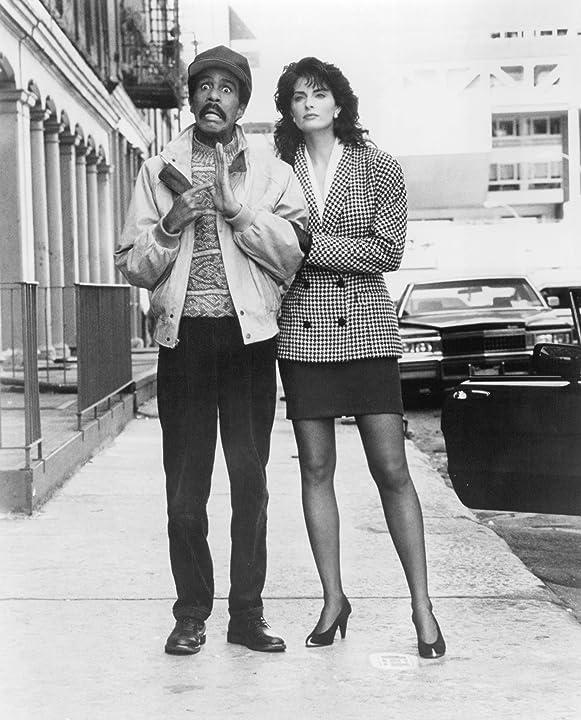 Joan Severance and Richard Pryor in See No Evil, Hear No Evil (1989)