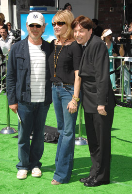 Mike Myers, Steven Spielberg, and Kate Capshaw at Shrek the Third (2007)