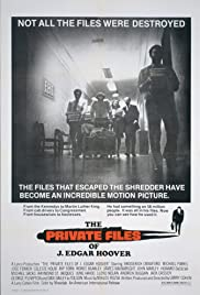 The Private Files of J. Edgar Hoover (1977) Poster - Movie Forum, Cast, Reviews
