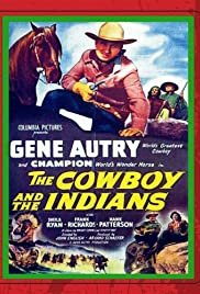 The Cowboy and the Indians Poster