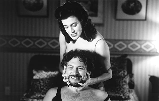 Sean Young and Harvey Fierstein in Dr. Jekyll and Ms. Hyde (1995)