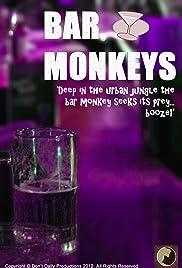 Bar Monkeys Poster