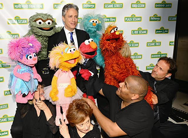 Jon Stewart at an event for Sesame Street (1969)