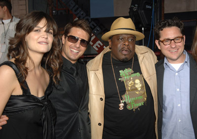 Tom Cruise, Katie Holmes, J.J. Abrams, and Cedric the Entertainer at an event for Mission: Impossible III (2006)